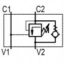 Гальмівні клапани однобічної дії OWC / SE-34