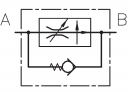 Регулятори витрати RD2-N зі зворотним клапаном