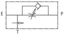 Регуляторы расхода RFP3 VU с обратным клапаном