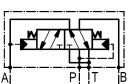 Гидрораспределители 4/2RHA06/20A с автоматическим переключением