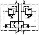 Гидрораспределители 4/2RHA06 с автоматическим переключением