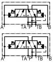Гідророзподільники 4 / 2RHA10 / 20A з автоматичним перемиканням