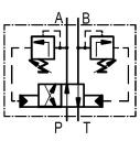 Гідророзподільники 4 / 2RHA10 з автоматичним перемиканням