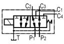 Диверторы 6-ти линейные секционные RS06T38