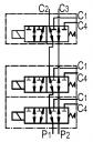 Диверторы 6-ти линейные секционные RS06V