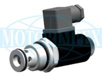 Картриджні електромагнітні клапани типу NO / NC 2URES10