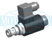 Картриджні електромагнітні клапани типу NO / NC 2URED6