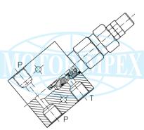 Невитiкаючi запобіжні клапани VMP-45-C-L-SN
