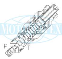Невитiкаючi картриджні запобіжні клапани VMP-CP40