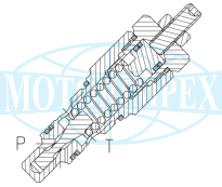 Безутечные картриджные предохранительные клапаны VMP-CP20
