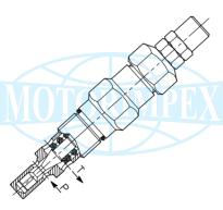 Невитiкаючi картриджні запобіжні клапани VMP-80