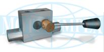 Гідрозамки двосторонньої дії VBPDE c / RUB з краном