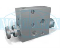 Регулятори витрати RFP3 для гідромоторів DANFOSS серії OMP і OMR