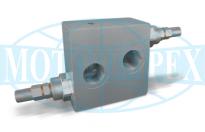 Запобіжні клапани VAU двосторонньої дії для гідромоторів SAMHYDRAULIK серії AG - AR