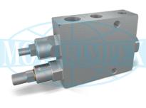 Клапани розвантаження VABP для здвоєних насосів