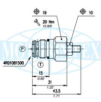 Невитiкаючi картриджні запобіжні клапани VMP і MC