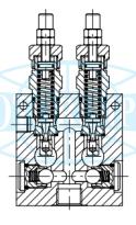 Запобіжні клапани двосторонньої дії VAIL / VA і VADDL / VA
