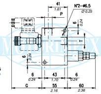 Запобіжні клапани VMP / VE з електричної розвантаженням