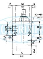 Редукційні клапани VRPRL зі зворотним клапаном