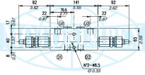 Гальмівні клапани двосторонньої дії VODL / CC
