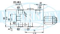 Тормозные клапаны одностороннего действия VOSL и VOSL/F