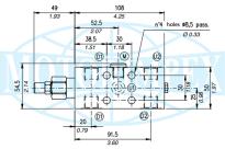 Тормозные клапаны одностороннего действия VOSL/SC/F/C 1116