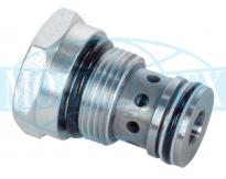 Нерегульовані картриджнi дроселі UDSD6 зі зворотним клапаном