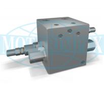 Двосторонні запобіжні клапани VBAU із зворотними клапанами