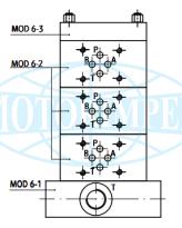 Секційні (модульні) монтажні плити MOD6