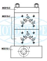 Секційні (модульні) монтажні плити MOD10