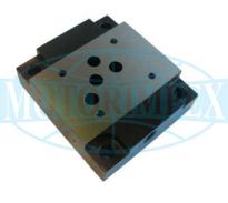Монтажні плити типу G для гідро розподільників і клапанів WE10, WH10, WMM10, WMD10, UZRB10, UZRC10, UZKC10, WZZC10, Z2S10, Z2FS10, USPH4, UZPR10 і UZUC10