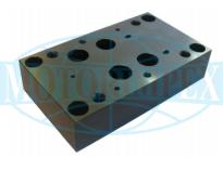 Монтажні плити типу G для гідро розподільників і клапанів WEH16, WH16, WMM16, Z2S16 і Z2FS16