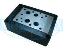 Монтажні плити типу G для гідро розподільників і клапанів WEH22, WH22, WMM22, Z2S22 і Z2FS22