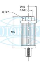 Фільтри всмоктувальні MCRFR для мінімаслостанцій