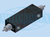 Тормозные клапаны двустороннего действия OWC/DE-34