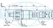 Картриджні запобіжні клапани CMP і CP