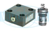Логічні клапани URZS25 і кришки ULZS25