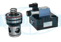 Логічні клапани URZS50 і кришки ULZS50
