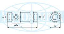Гідрозамки одно- і двосторонньої дії VRS, VBPSA і VBPDA