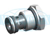 Картриджні зворотні клапани UZZD4