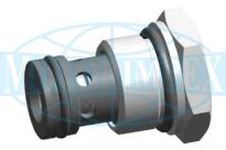 Картриджні зворотні клапани UZZD6