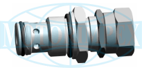 Картриджні запобіжні клапани UZPD4