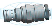 Картриджные предохранительные клапаны UZPD6