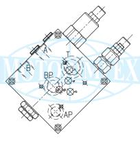 Клапаны разгрузки VD-CTP-05 для сдвоенных насосов