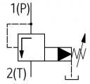 Картриджні запобіжні клапани UZPS32