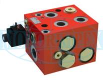 Диференціальні клапани MTDVD для 3-х гідромоторів