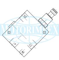 Диференціальні клапани A-VRSP01-CC-34-L