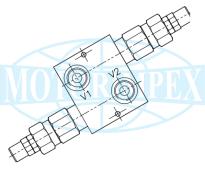 Безутечные предохранительные клапаны VMP-DI-L двустороннего действия