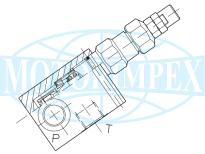 Невитiкаючi  запобіжні клапани VMP-80-C-L