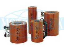 Алюминиевые цилиндрические гидравлические домкраты DAC